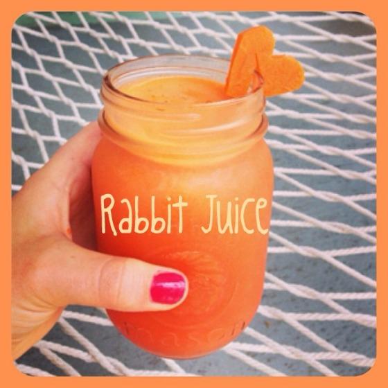 rabbit juice