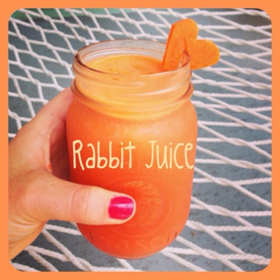 rabbit juice